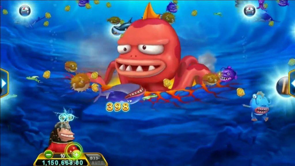 เกมยิงปลากัปตันโจรสลัดออนไลน์